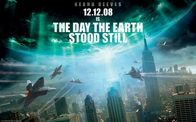 Poster from the day the earth stood still.