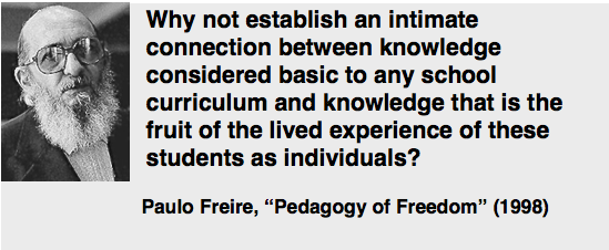Paulo Friere quote